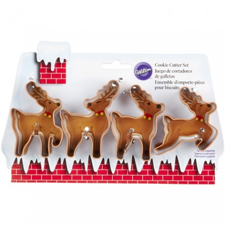 Set modelčkov za piškote Wilton Christmas 2308-5075