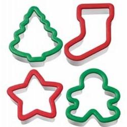 Set modelčkov za piškote Wilton Christmas 2311-260