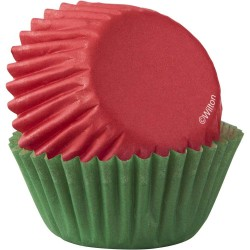 Mini papirčki za peko XMS 415-7231 100 kos Red Green
