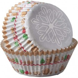 Papirčki za peko XMS 415-7208 75 kos Snowflake Wishes