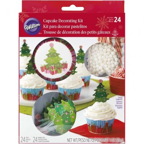 Cupcake decorating kit  XMS 415-7223 Tree 24 kos