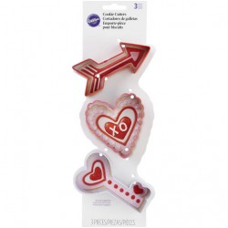 Set modelčkov za piškote Wilton 2308-8953 Valentines day