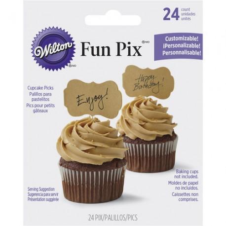 Wilton 2113-9362 Papirčki za dekoracijo cupcakesov