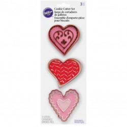 Set modelčkov za piškote Wilton  VD 2308-1125 Valentines day