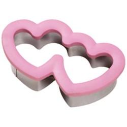 Modelček za piškote  Wilton Comfort Grip VD  2310-647 Double Heart