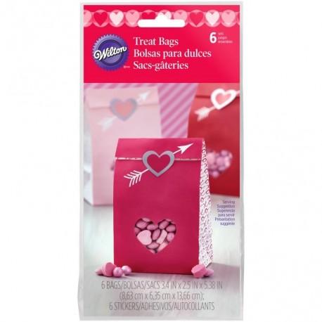 Vrečke Wilton VD 1912-5517 Mini Bag Heartfelt Confections 25 kos