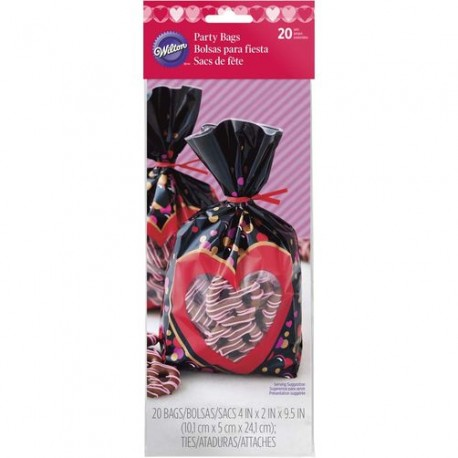 Vrečke Wilton VD 1912-5517 Mini Bag Heartfelt Confections 25 kos