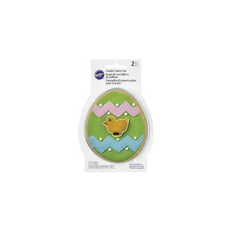 Set modelčkov za piškote Wilton EA 2308-4455 Egg with Mini Chick