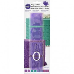 Wilton 417-7551 Texture Combs