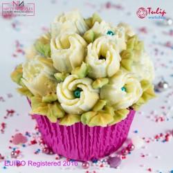 Nifty Nozzles ruski nastavek za dekoriranje L NN17 Garden Rose