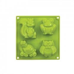 Multiporcijski silikonski pekač/model FR105 ŽIVALI