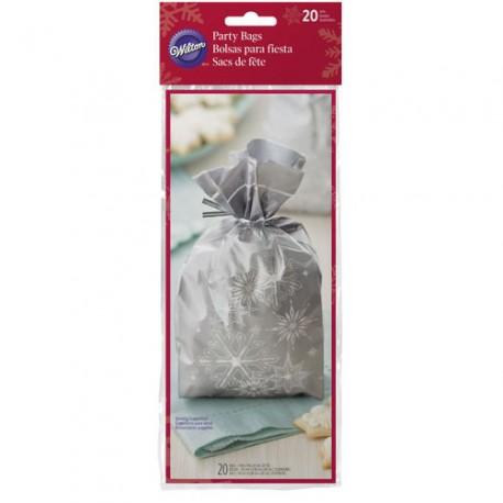 Vrečke Wilton XMS 1912-2139 Snowflake 20 kos
