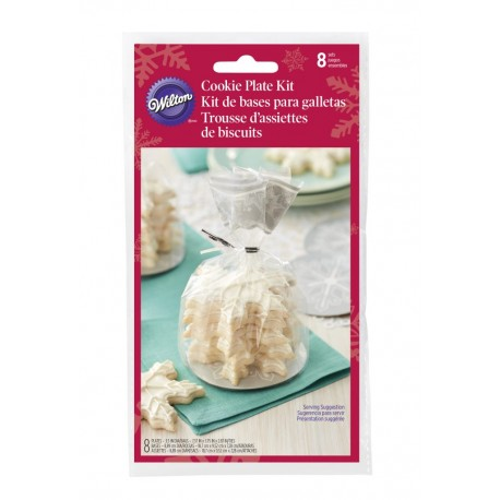 Mini Cookie Tray Kit  Wilton XMS 1912-2137 Snowflake  8 kos