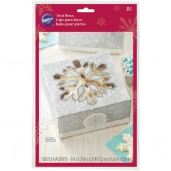 Cookie Treat Box Kit  Wilton XMS 415-2468 3 kos