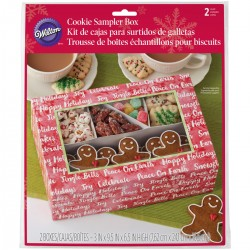 Cookie Treat Box Kit  Wilton XMS 1912- 3 kos