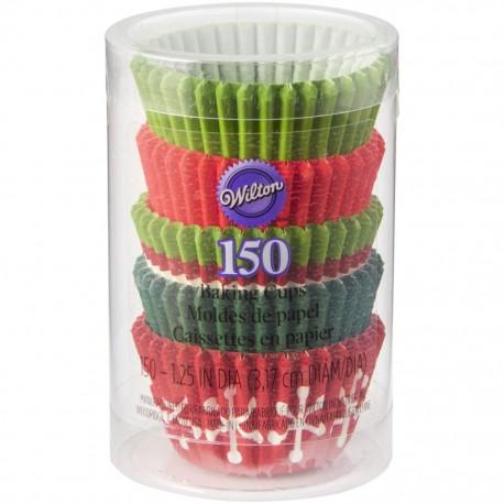 Mini papirčki za peko XMS 415-2086 Holiday 150 kos