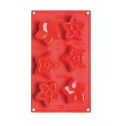 Multiporcijski silikonski pekač/model XMS FR067 Stelle