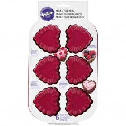 Wilton VD 2105-4861 Ruffled Heart