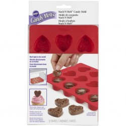 Wilton VD 2115-0225 Candy Mold Hearth