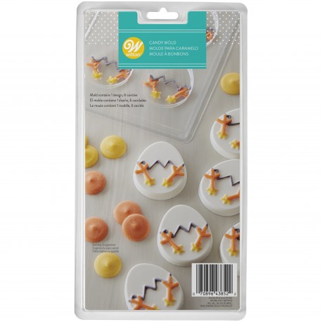 Model za bombone Wilton EA 2115- 0032 Candy Mold Hatching Chick