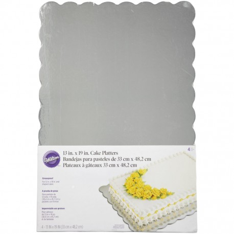 Wilton Cake Board - 2104-4329 - podstavek za torto - BLACK - 33x48.2 cm