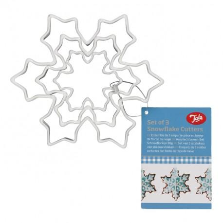 Tala 10A11122 set modelčkov za piškote Snowflake
