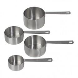 Tala 10A11476 Stainless Steel Measuring Cups / Merilne žličke