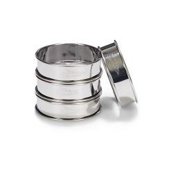 PAT 02141 4 Piece Tart Ring Set / Set obročev za pito