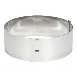 PAT 02459 Adjustable Baking Frame / Nastavljiv obroč za torto
