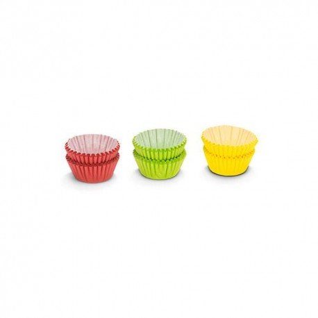 PAT 01727 Aluminium Candy Cases / Papirčki za mini sladice 75 kos