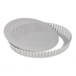 PATT 03572 Perforated Quiche Pan / Perforiran pekač za pito /