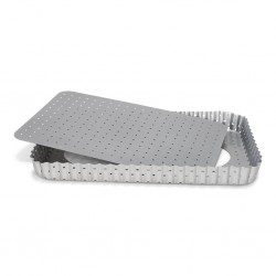 PATT 03582 Perforated Quiche Pan / Perforiran pekač za pito / 35 x 11 cm