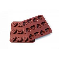 Model za praline Silikomart SMO06 HEARTS