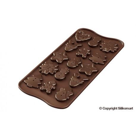 Model za praline Silikomart XMS SCG41 Choco Buttons