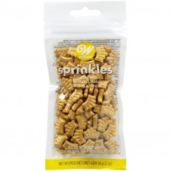 Wilton Sprinkles VD 03-3070 Gold Crowns 56 g