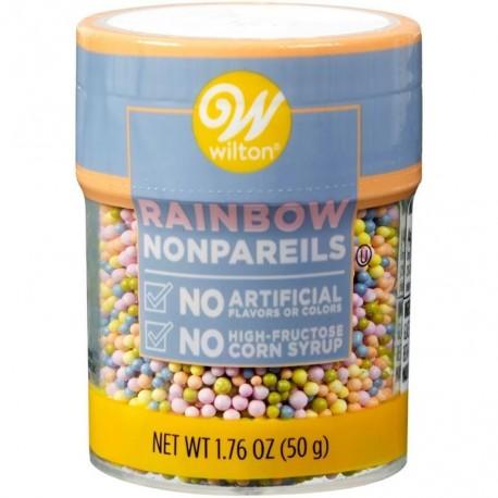 Wilton Sprinkles 710-7993 Rainbow Nonpareils 45 g