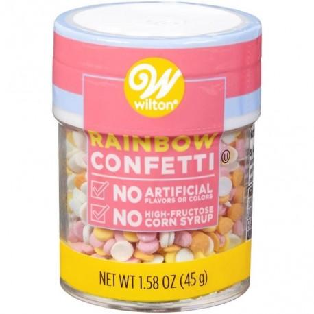 Wilton Sprinkles 710-7991 Rainbow Confetti 45 g