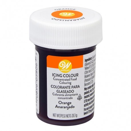 Wilton Icing Color - jedilna barva v pasti 04-0-0032 Orange / Oranžna