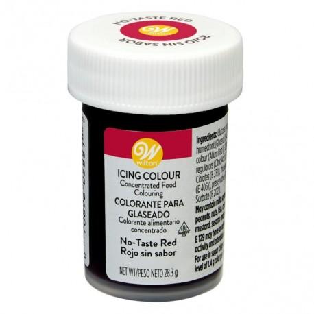 Wilton Icing Color - jedilna barva v pasti 04-0-0048 Red No Taste / Rdeča