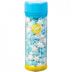 Wilton Sprinkles XMS 710-7662 Sprinkels Jumbo and Mini Pearlized Stars 113 g