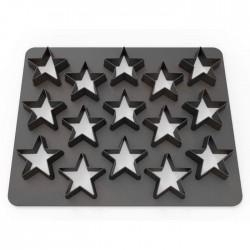 Dekofee PolyCutter DF0815 Stars / Zvezde