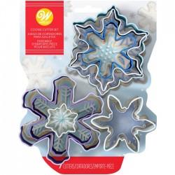 Set modelčkov za piškote Wilton XMS 2308-3803 Snowflake