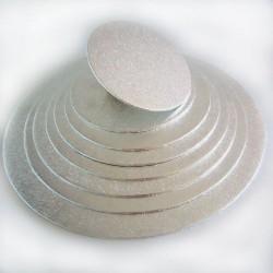 FunCakes Cake Board Silver FC925RD Podstavek za torto 25 cm1 kos