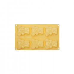 Silikonski pekač + modelček za piškote PavoCookie CK06 Medvedek