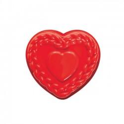 Silikonski pekač/model  FRT184 Pleteno srce