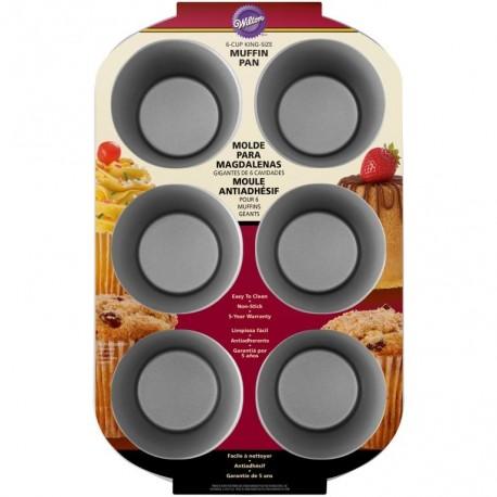 Pekač 2105-9921 Recipe Right 6 Cup Kingsize Muffin Pan
