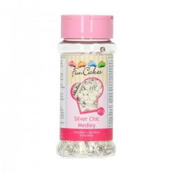 FunCakes Dekorativni posip Sprinkle Medley Glamour Chic 65g