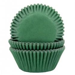 HoM Papirčki za muffine HM5963 Dark Green 50 kos