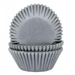 HoM Papirčki za muffine HM5961 Grey  50 kos