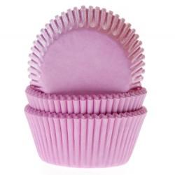 HoM Papirčki za muffine HM1210 Light Pink  50 kos